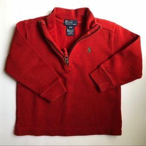 3T RALPH LAUREN red pullover